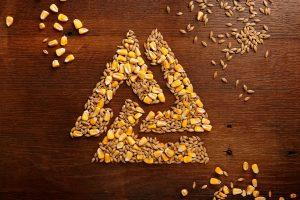 Signal Hill logo made of oats
