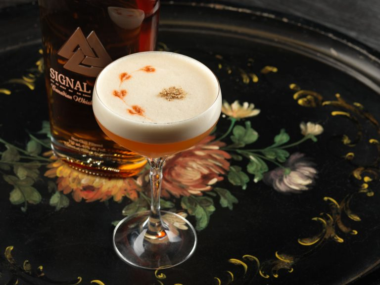 Signal Hill Chai Sour Cocktail